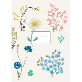 FLOWERS - NOTEBOOK - 15X21