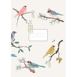 BIRDS - NOTEBOOK - 15X21