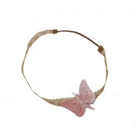 BUTTERFLY HEADBAND DUSTY PINK - NUMERO 74