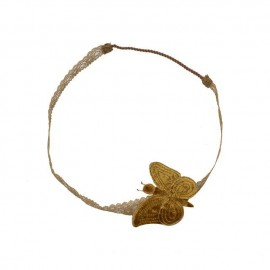 BUTTERFLY HEADBAND GOLD - NUMERO 74