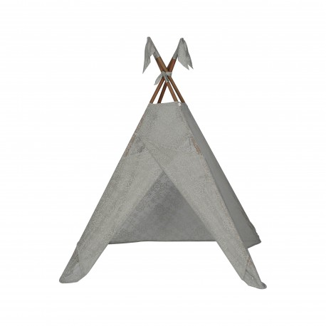TIPI TENT - LACE BAROQUE - SILVER GREY