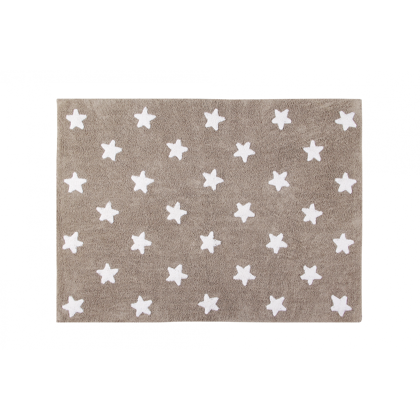 Tapis Beige Etoiles Blanches 120x160 Yadayada