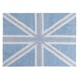 TAPIS - UK FLAG BABY ROSE - 120X160