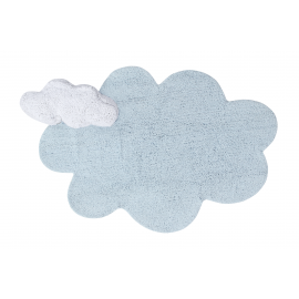 TAPIS - PUFFY DREAM BLEU 110X170