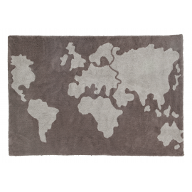 TAPIS WORLD MAP - 140X200