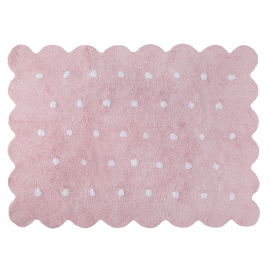 TAPIS - BISCUIT ROSE - 120X160
