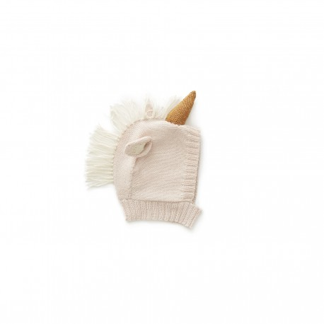BONNET ANIMAL - LICORNE ROSE PALE