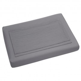 ROUND AND SQUARE ADAPTABLE CHANGING MAT COVER - STONE GREY