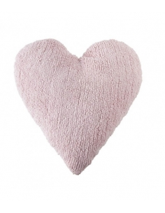 COUSSIN COEUR - ROSE - LORENA CANALS