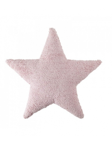 COUSSIN ETOILE - ROSE - LORENA CANALS