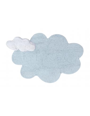 TAPIS - PUFFY DREAM BLEU 110X170