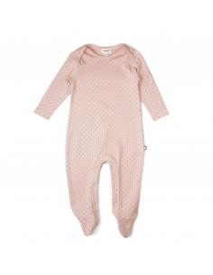 pyjama rose a pois - oeuf nyc