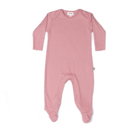 pyjama rose fonce pois rouges - oeuf nyc
