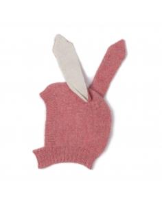 bonnet animal - lapin rose - oeuf nyc
