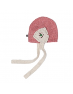 bonnet daisy - rose et blanc - oeuf nyc
