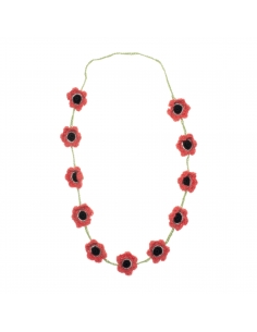 collier fleurs - oeuf nyc