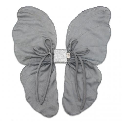 ailes de fée - gris argent