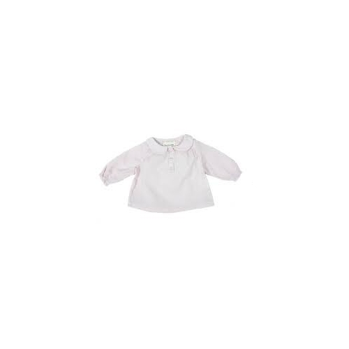 blouse plumetis col rond