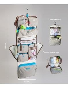 sac de voyage - cabine - rose margaux