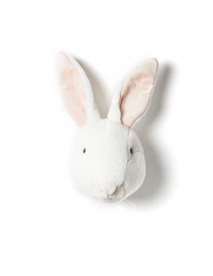 Trophée lapin blanc - Wild & Soft