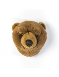 BEAR LIGHT BROWN TROPHY - OLIVER - WILD AND SOFT