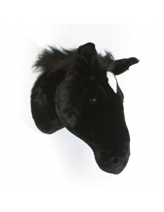 TROPHEE CHEVAL NOIR - PETER - WILD AND SOFT