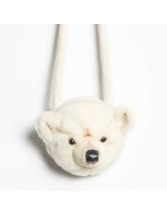 PETIT SAC A MAIN - OURS BLANC - BASILE - WILD AND SOFT