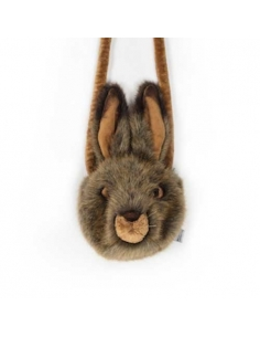 SMALL HARE PURSE - LEWIS - WILD AND SOFT