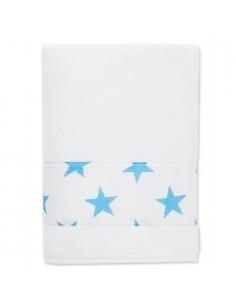 Serviette de bain - fluo blue