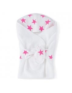 sortie de bain - fluo pink