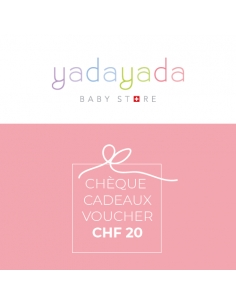 Cheque cadeaux CHF 20