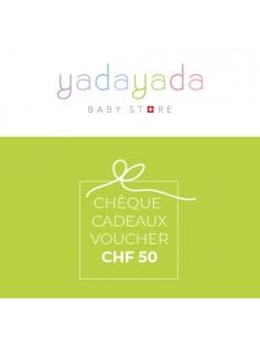 Cheque cadeaux CHF 50