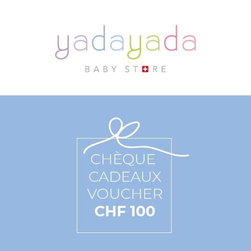 Cheque cadeaux CHF 100
