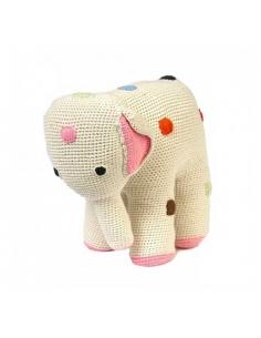 MAMAN ELEPHANT NATUREL - 31 CM