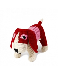 FINE BASSET RED AND PINK -...