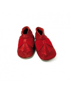 CHAUSSONS BEBE BOW