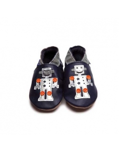 CHAUSSONS BEBE ROBOT