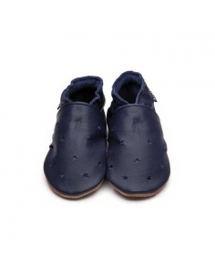 CHAUSSONS BEBE MILKY WAY - NAVY