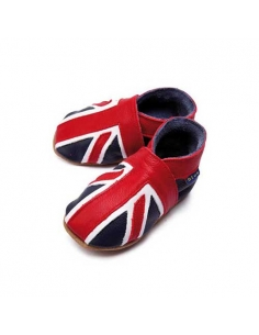 CHAUSSONS BEBE UNION JACK