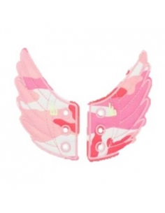 AILES CAMOUFLAGE ROSE - SHWINGS