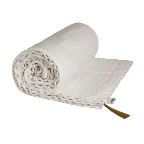 Couverture légère, blanche