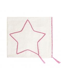 Couverture légère, étoile rose