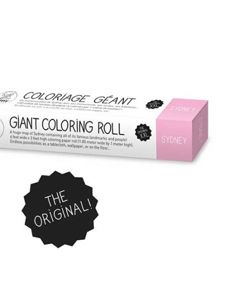 COLORIAGE GEANT - SYDNEY - Omy