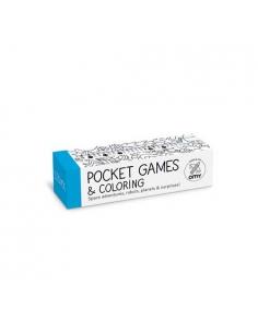 POCKET GAMES & COLORING - COSMOS - Omy