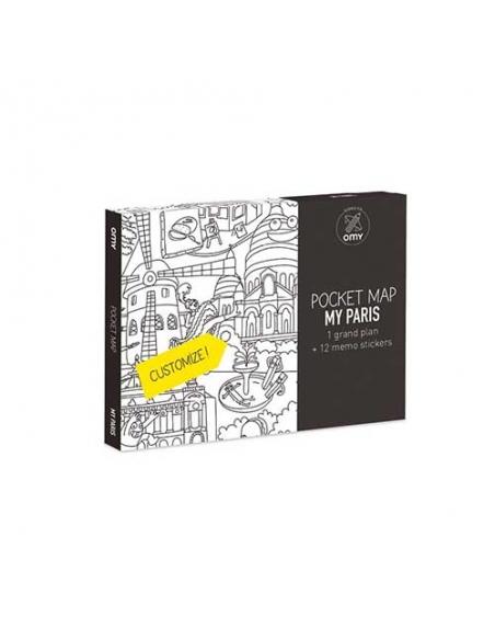 POCKET MAPS - PARIS - Omy