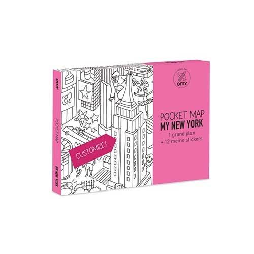 POCKET MAPS - NEW YORK - Omy