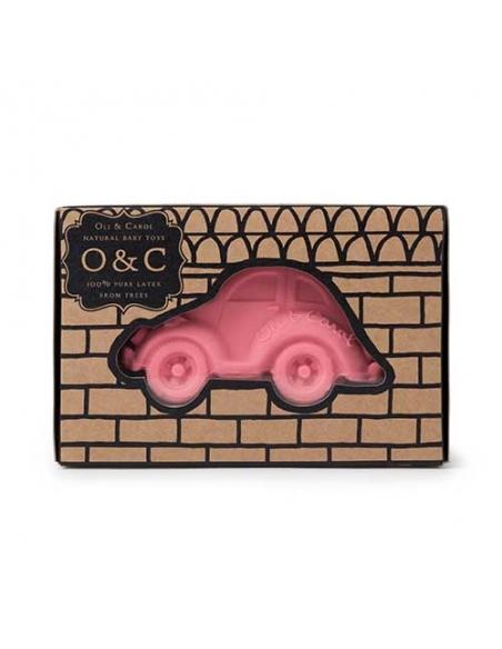 jeu de bain - carlito - voiture rose - oli et carol