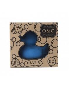 jeu de bain - elvis the duck - bleu - oli et carol