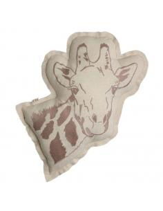 Coussin animal - Girafe