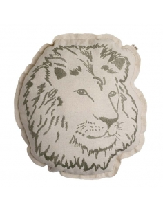 Coussin animal - Lion
